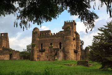 Castles of the Imperial Campus. Gondar