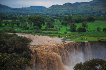Tis Isat Falls on the Blue Nile.