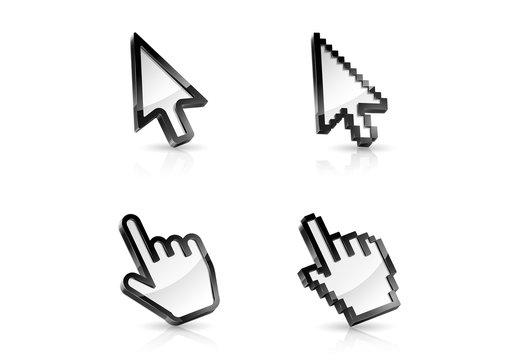 4 Cursor Icons