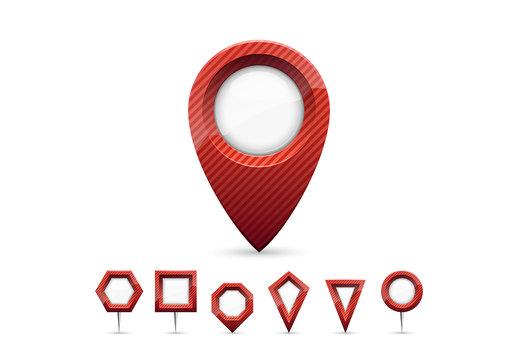 Red Locator Pins