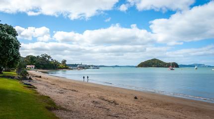 Paihia beach, New Zealand
