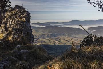 Mont du Chat - Dent du Chat - Molard Noir - Savoie.