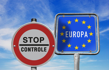 Stop grenscontrole Europa