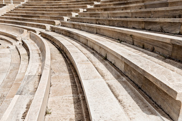 Panathenaic stadium, Kallimarmaro in Athens, Greece