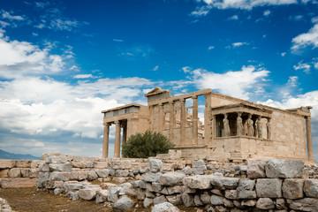 Erechtheion in Acropolis, Athens, Greece