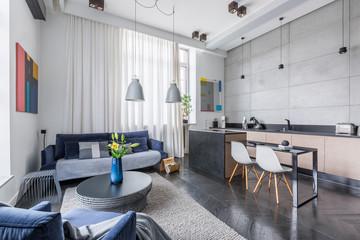 Multifunctional apartment design