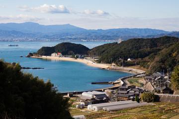 愛媛県 大島の海岸