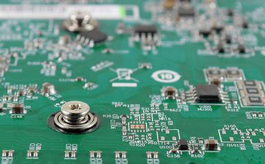 computer chip Electronics motherboard high tech green