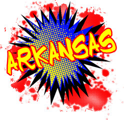 Arkansas Comic Exclamation