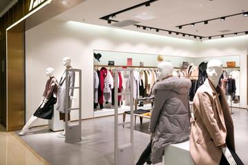 fashion shop interior