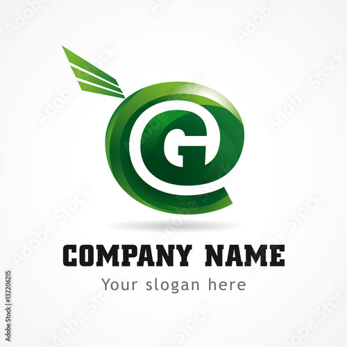 letter of administration quot letter g green flying abstract brandname sign branding 1378