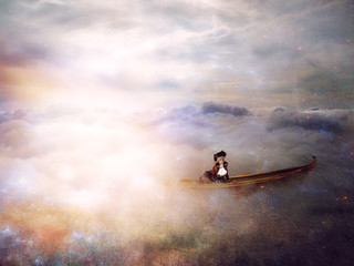Adrift in the clouds