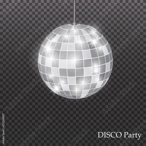 quotabstract background silver disco ballquot imagens e vetores