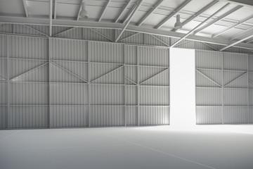 3d warehouse, factory  interior