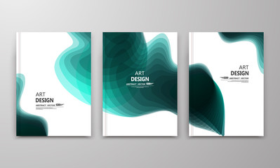 Abstract composition. Text frame surface. Green a4 brochure cover design. Title sheet model set. Bright colored grunge icon. Creative vector front page. Ad banner form texture. Blotch flyer fiber font