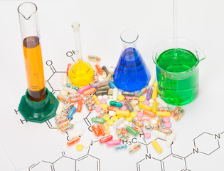Production of drugs in the laboratory