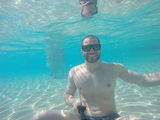 Underwater Selfie Shot
