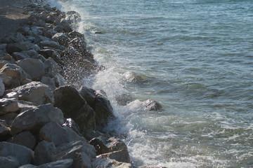 Rocky coastline, Croatia
