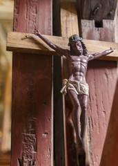 figure of christ between shadows,bohol