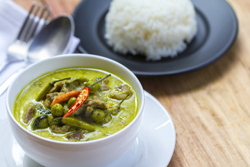 Thai Food: Green Curry