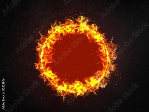 burning ring of fire stockfotos und lizenzfreie bilder auf bild 132224806. Black Bedroom Furniture Sets. Home Design Ideas