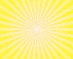 Sunburst with Grunge