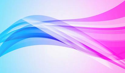 Blue pink swirl background - design pattern color art photo stock