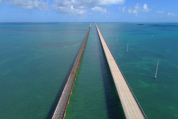 Aerial image 7 mile bridge,