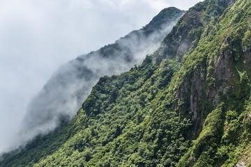 Beautiful nature of mount Unzen in Kumamoto, Japan.