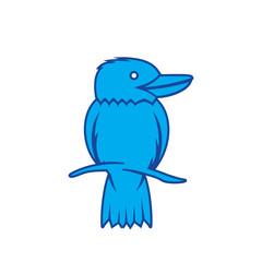 Bird Kookaburra logo