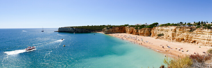 Praia Nova beacg in Portugal, Algarve - Panorama Picture