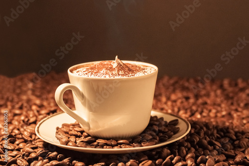 kaffee am morgen vertreibt kummer und sorgen immagini e fotografie royalty free su fotolia. Black Bedroom Furniture Sets. Home Design Ideas