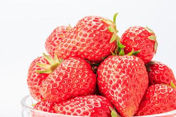Ripe strawberry