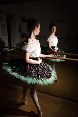 Le esibizioni della giovane ballerina