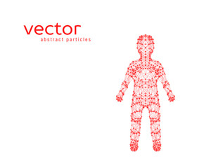 Vector illustration of child