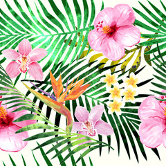 Sterlitzia tropical pattern