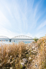 淀川沿いの風景