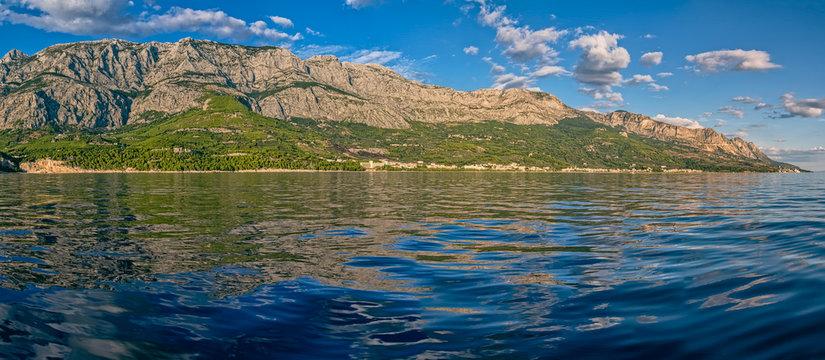 Tucepi panoramic view landscape
