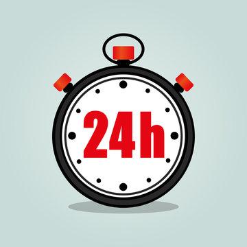 twenty four hours stopwatch
