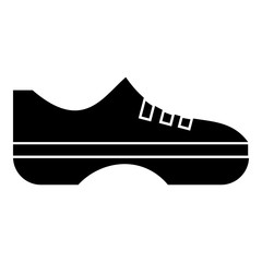 Women sneakers icon, simple style