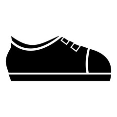 Sport sneakers icon, simple style