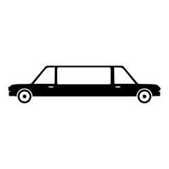 Limousine icon, simple style