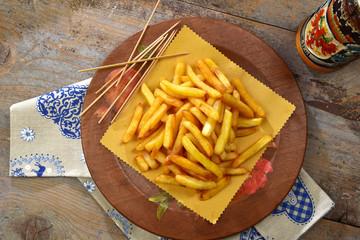 Patate fritte in baita