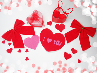 greeting card valentine's day love holiday concept