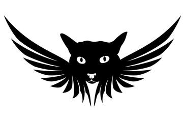 Cat angel sign.