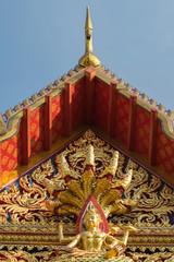 Thai art on roof