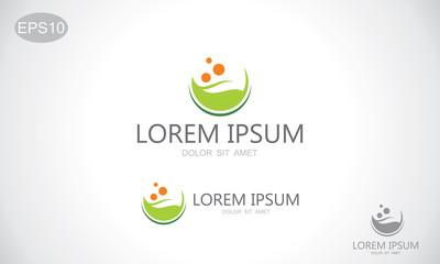 green leaf bio organic logo
