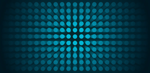 Volume abstract blue background, many pillar, cylinders, 3d vector wallpaper