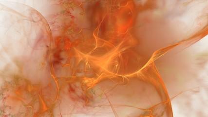 Weicher nebelartiger Hintergrund - orange
