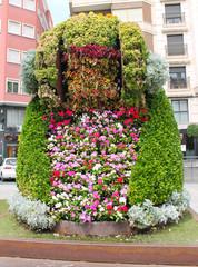 Dama de Elche de Flores
